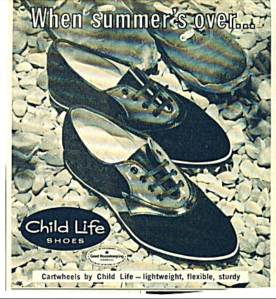 1964 Child-Life shoes AD Cartwheels Design (Image1)