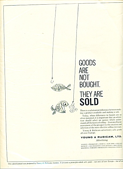 Young & Rubicam, Ltd,  ad -  May 1961 (Image1)
