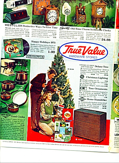 1975 True Value STORE ADS 6 pg TOYS - DOLLS + (Image1)