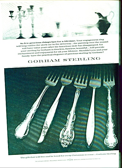 Gorham sterling ad - November 1964 (Image1)