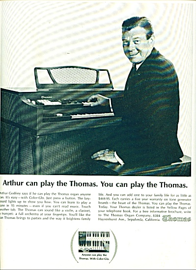 Thomas Piano Ad - Nov. 1964 (Image1)