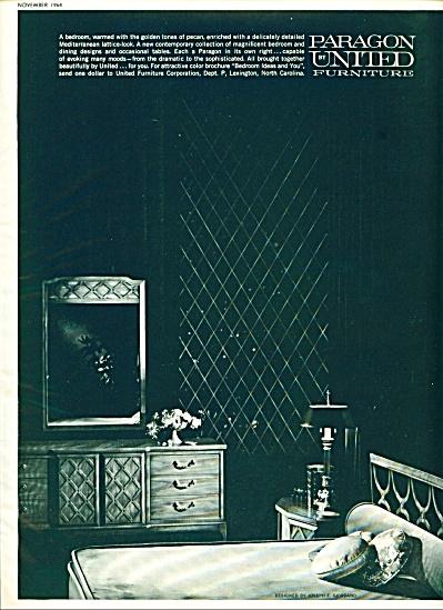1964 Paragon United furniture ad (Image1)