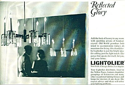 Lightolier reflected glory ad - Nov. 1964 (Image1)