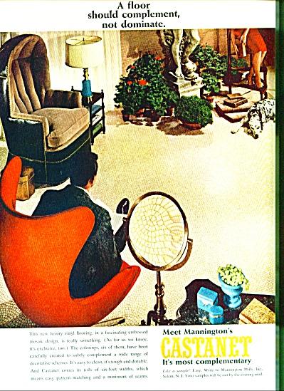 1964 Castanet Mannington AD W/ EAMES CHAIR (Image1)
