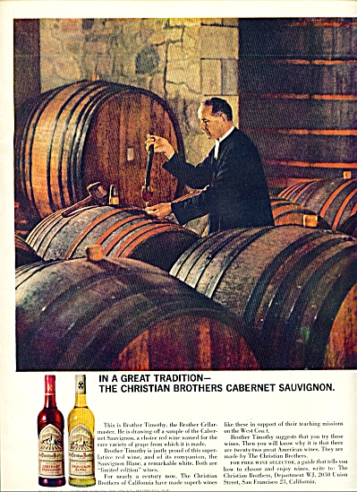 The Christian Brothers cabernet sauvignon 64 (Image1)