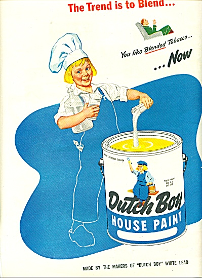 Dutch Boy House paint ad - August 1947 (Image1)