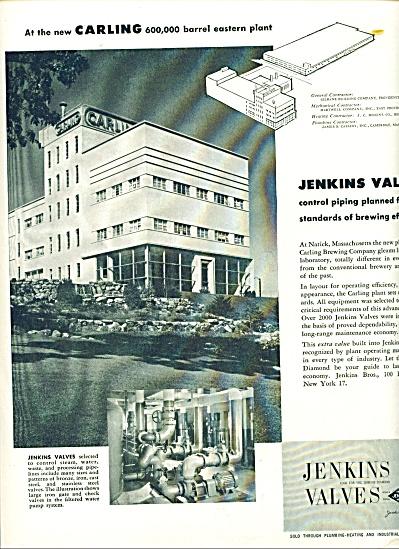 1956 Jenkins Valves AD CARLING MASS PLANT (Image1)