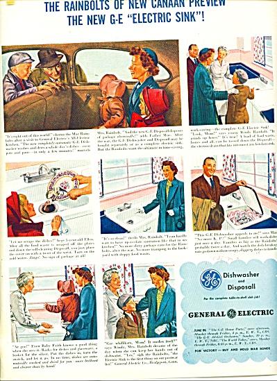 1945 General Electric ad Vintage ARTWORK (Image1)
