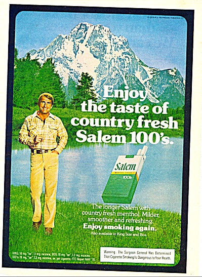 Salem cigarettes ad - December 1979 (Image1)