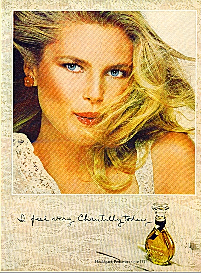 1979 Chantilly Christy Brinkley Ad