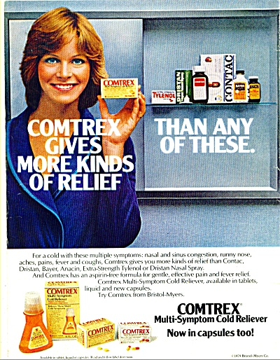 1979 Comtrex Cold Reliver AD PRETTY WOMAN (Image1)