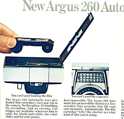 Argus camera ad - December 1964 (Image1)