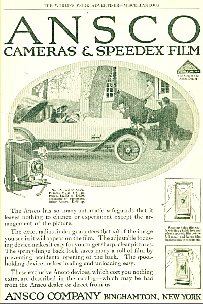 ANSCO camera & speedex film - 1910's (Image1)