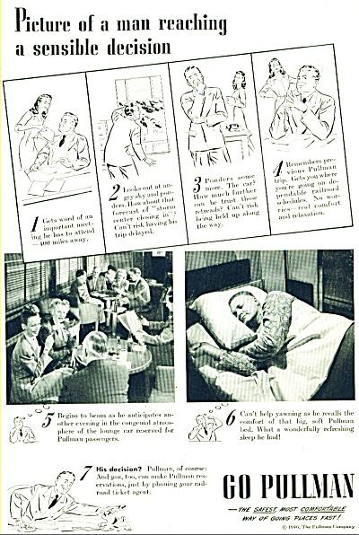 1946 GO PULLMAN Sensible Decision AD (Image1)