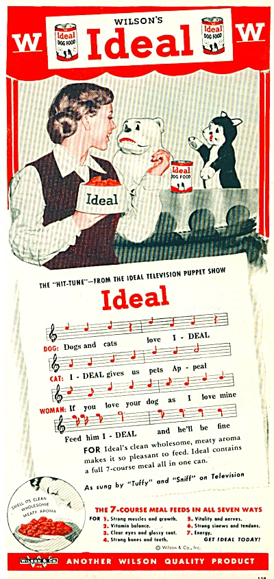 1951 Ideal Dog Food AD Puppet Show (Image1)