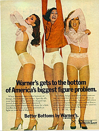 WARNER's BETTER BOTTOMS AD Gia Carangi (Image1)