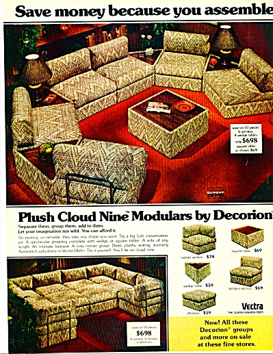 1977 Decorion Furniture AD Kirschman +++ (Image1)