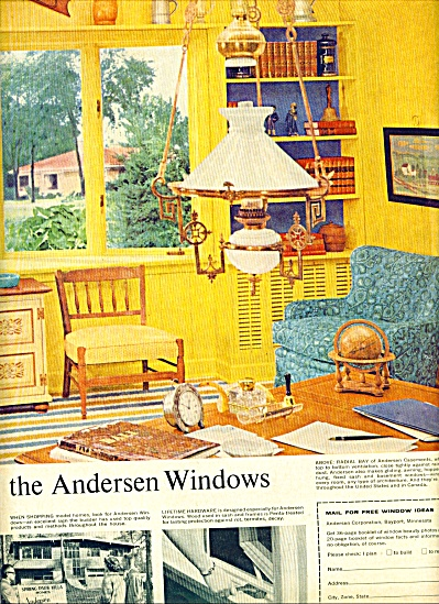 1960  Andersen Windows AD Great Decor (Image1)
