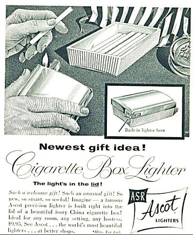 Ascot Lighters ASR  ad - Nov. 1953 (Image1)