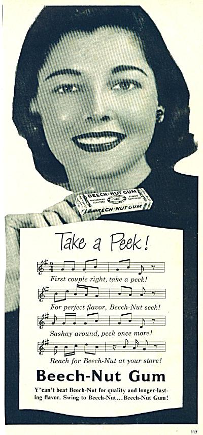 1969 Beech Nut GUM AD (Image1)