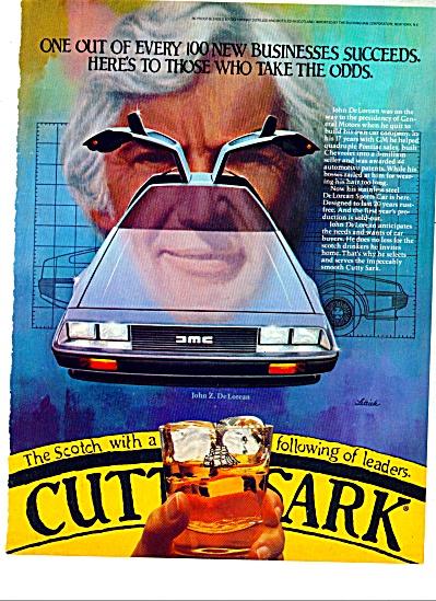 1969 Cutty Sark AD JOHN DcLOREON LETTICK ART (Image1)
