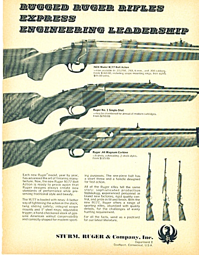 Sturm, Ruger & cOMPANY aD - jULY 1969 (Image1)