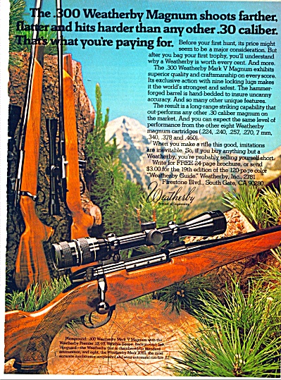 1969 Weatherby Magnum Rifle AD (Image1)