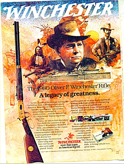 1969 Winchester rifle ad Legacy Weapon (Image1)