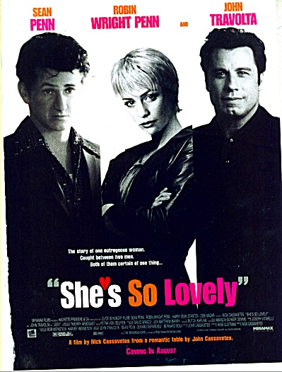 She's So Lovely Movie Ad PENN WRIGHT TRAVOLTA (Image1)