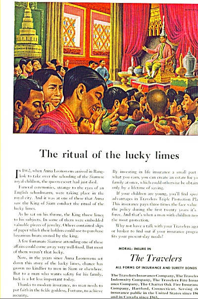 The Travelers insurance co.  July 1948 (Image1)