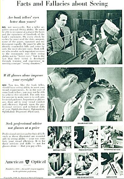 American Optical ad - July 1948 (Image1)