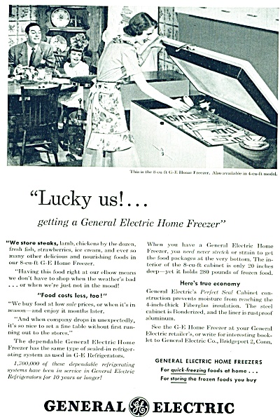 1948 General Electric GE FREEZER - Mom Family (Image1)