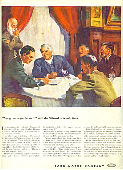 Ford Motor Company ad (Image1)