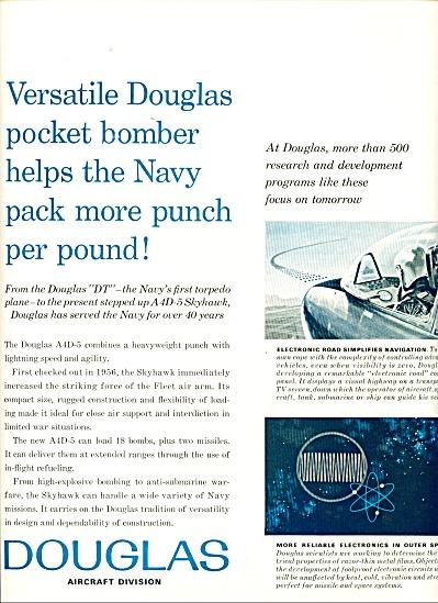 1962 Douglas Aircraft AD Navy TORPEDO PLANE (Image1)