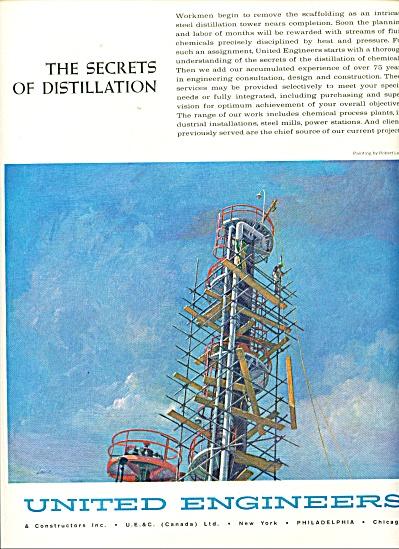 1962 United Engineers  AD LANVIN ART (Image1)