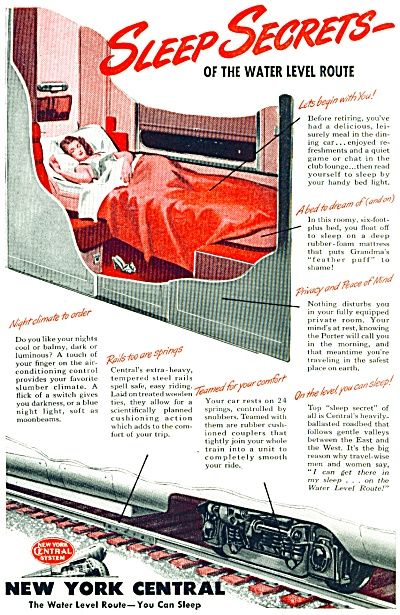 1946 New York Central Railroad AD Secrets (Image1)
