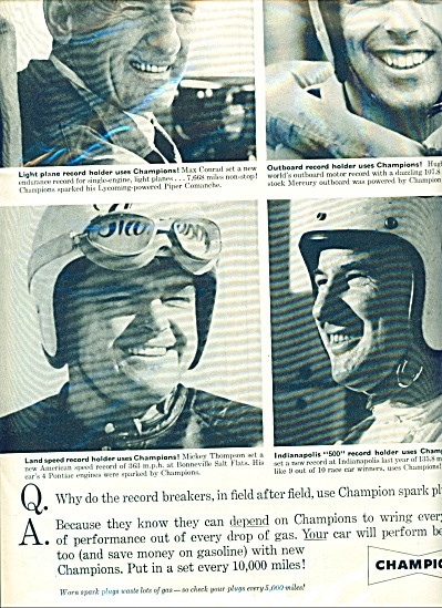 1960 Champion AD WARD - THOMPSON - ENTROP ++ (Image1)