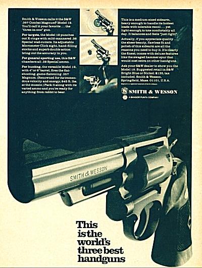 Smith & Wesson gun ad (Image1)