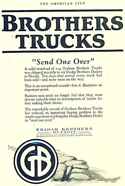 GRAHAM Brothers TRUCK PROMO AD (Image1)