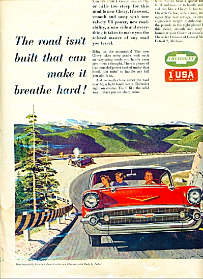 Chevrolet  CHEVY CAR PROMO AD Breathe Hard (Image1)
