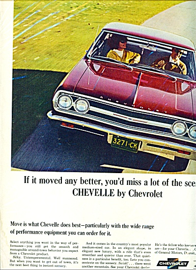 Chevrolet  Chevelle -  ad (Image1)