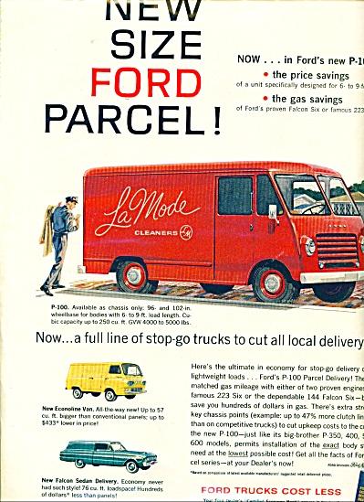 Ford trucks ad - April 1961 (Image1)
