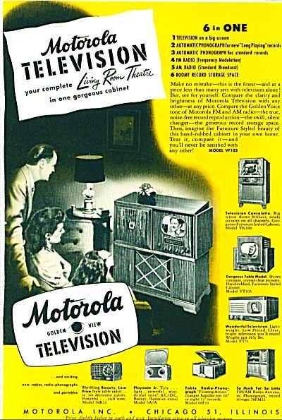 Motorola Television ad - 1948 (Image1)