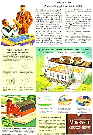 1946 MONSANTO Chemical AD Santophen 20 (Image1)
