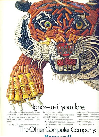 1969 Honeywell AD COMPUTER TIGER (Image1)