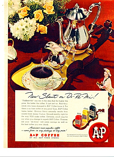 A. & P. Coffee ad - 1948 (Image1)