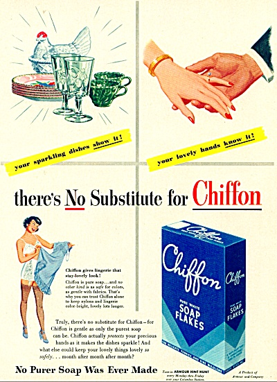 1948 Chiffon soap flakes AD COOL Art (Image1)