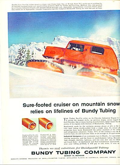 Bundy Tubing Company ad  1957 (Image1)