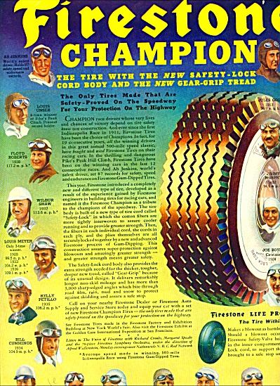 Firestone Champion tires - 1939 (Image1)