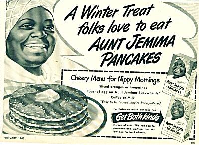 1948 Aunt Jemima pancakes ad (Image1)